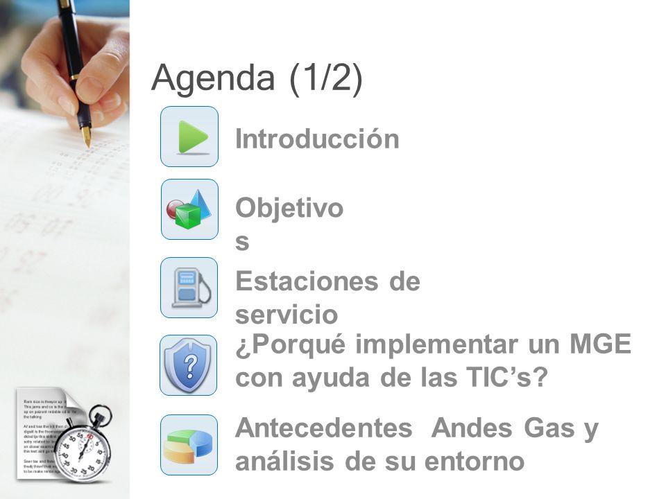 ¿Porqué implementar un MGE con ayuda de las TICs? (9/10) TICs en una estación de servicio Óptimo
