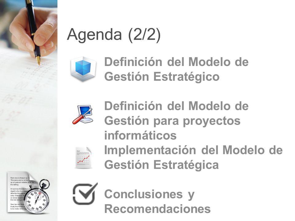 Definición del Modelo de Gestión para proyectos informáticos (6/7) Metodología de Gestión de Proyecto Informático MSF Microsoft Solution Framework