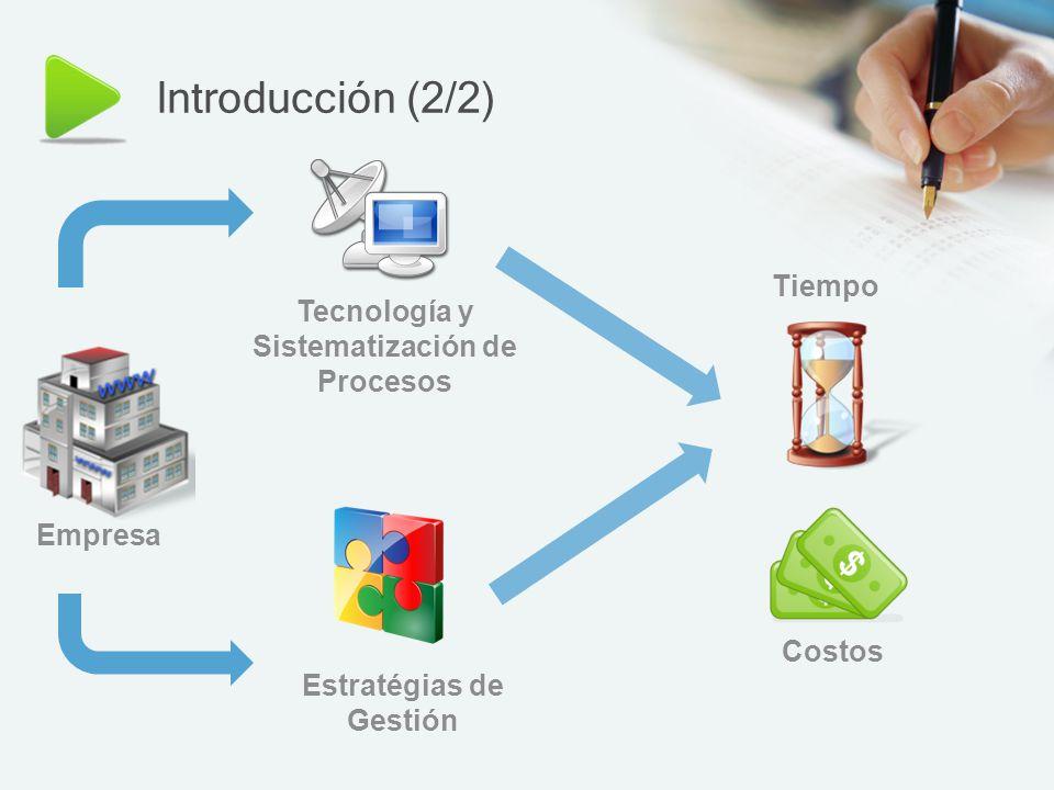 Agenda (1/2) Introducción Objetivo s Estaciones de servicio ¿Porqué implementar un MGE con ayuda de las TICs.
