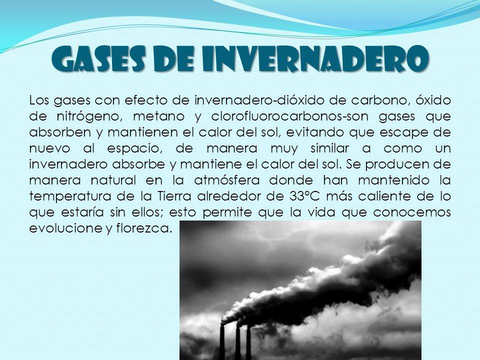 Las actividades humanas, como la agrícola e industrial, durante los últimos 150 años han liberado sustancialmente más gases de invernadero a la atmósfera.