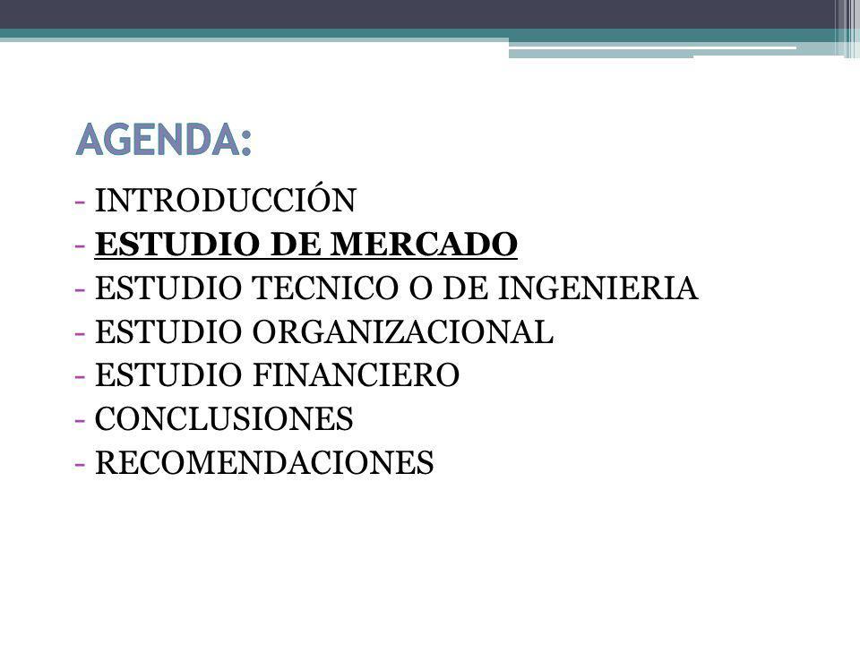 INVESTIGACION DE MERCADOS Objetivo principal: Determinar el grado de aceptación de los servicios de una empresa de importación directa de suministros para el apoyo de la industria en la población Guayaquileña y sus alrededores.