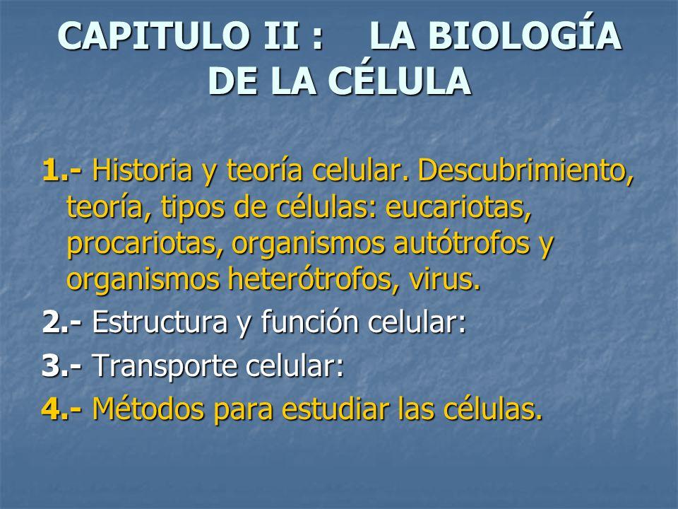 CAPITULO III : LA QUIMICA CELULAR 1.- Las moléculas de los seres vivos: El agua.