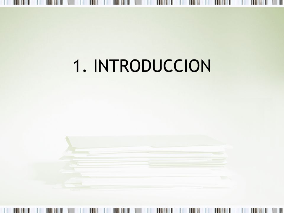 Objetivos 1.INTRODUCCION Objetivos Descripción de la empresa Descripción del Dpto.