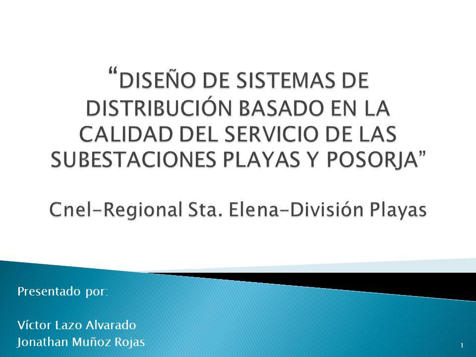Analizar la situación actual del sistema eléctrico de las subestaciones de Playas y Posorja.