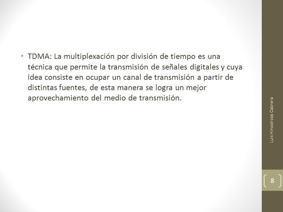 GSM: Sistema Global para las Telecomunicaciones Móviles.