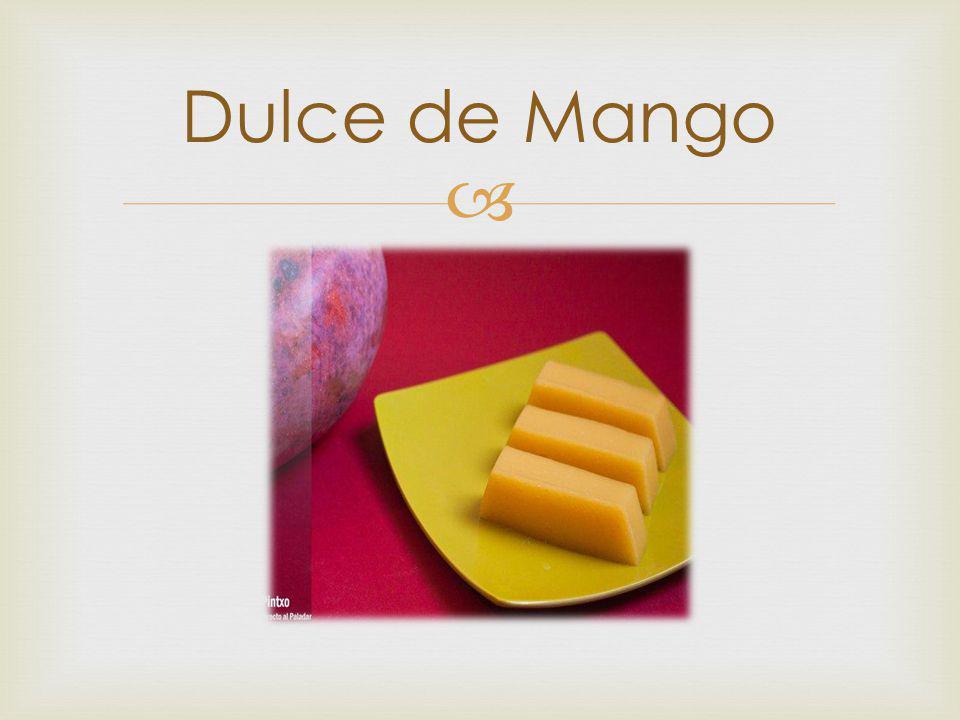 Dulce de Mango