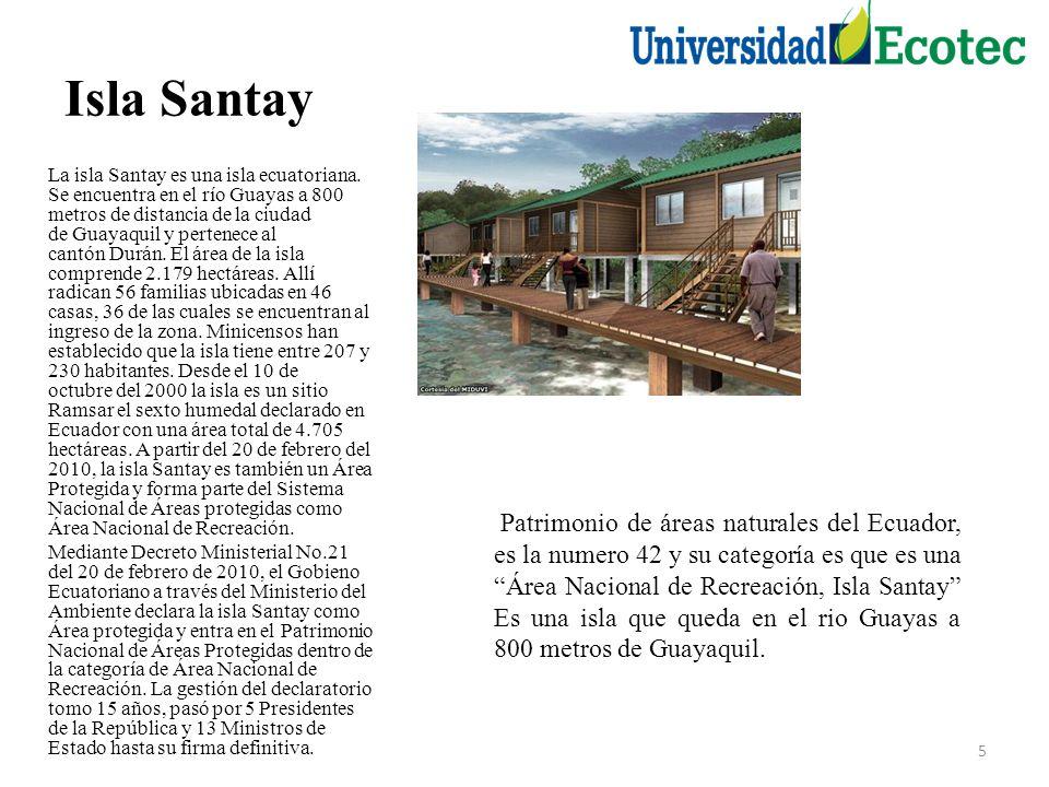 Isla Santay La isla Santay es una isla ecuatoriana.