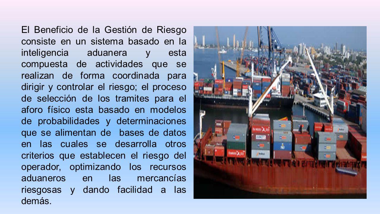 Potenciando el uso de técnicas aduaneras de Gestión de Riesgos, incrementando controles a las mercancías susceptibles de defraudación.