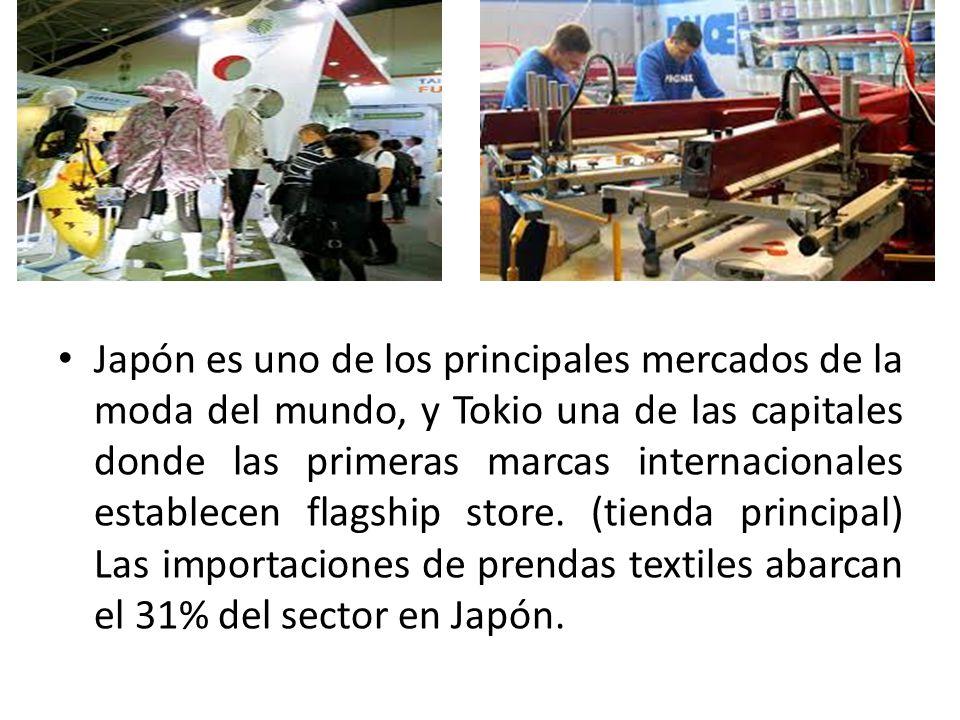 Japón es uno de los principales mercados de la moda del mundo, y Tokio una de las capitales donde las primeras marcas internacionales establecen flags