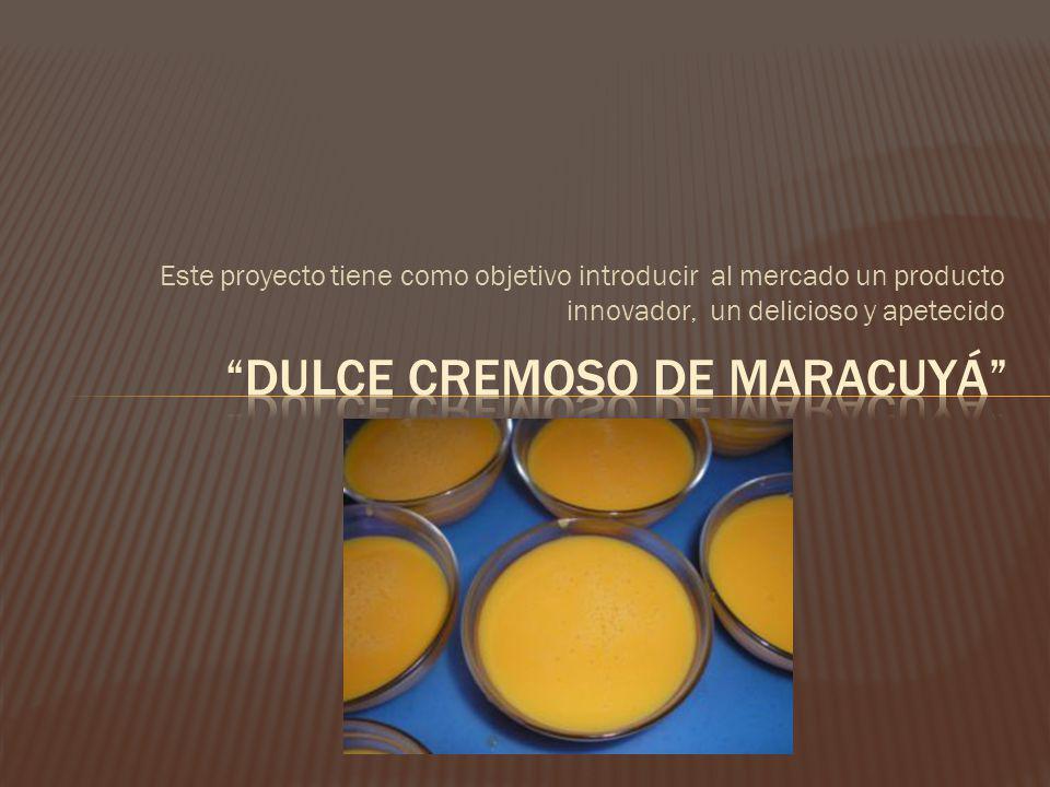 Este proyecto tiene como objetivo introducir al mercado un producto innovador, un delicioso y apetecido