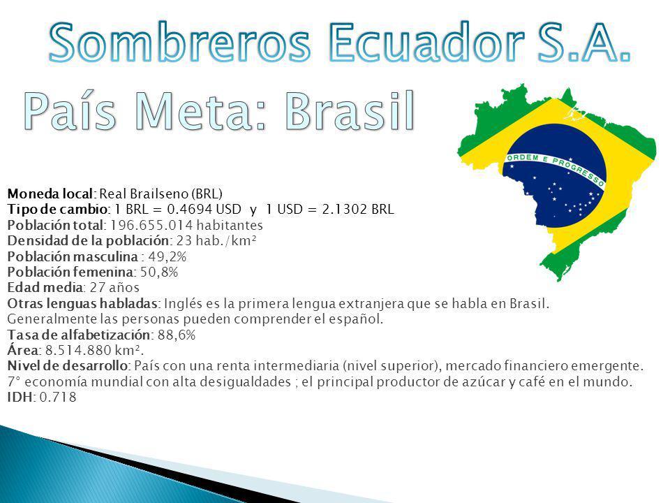 Brasil en la actualidad es la sexta potencia del mundo en términos de su PIB La economía Brasileña creció en 7.5% PIB en el 2010 La política de Brasil se basa en programas de apoyo al crédito y a la financiación de las inversiones y medidas presupuestarias a largo plazo.