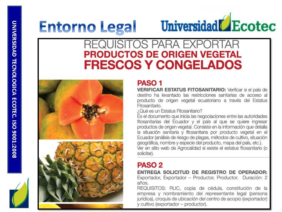 Los aranceles que se presentan en el siguiente cuadro corresponden a los promedios ad valorem que la República de Chile aplica a los principales productos de la oferta exportable ecuatoriana.