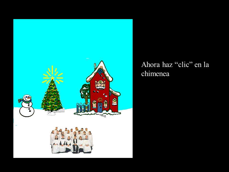 ¡ Es el espíritu de la Navidad! Haz clic en el árbol para encenderlo