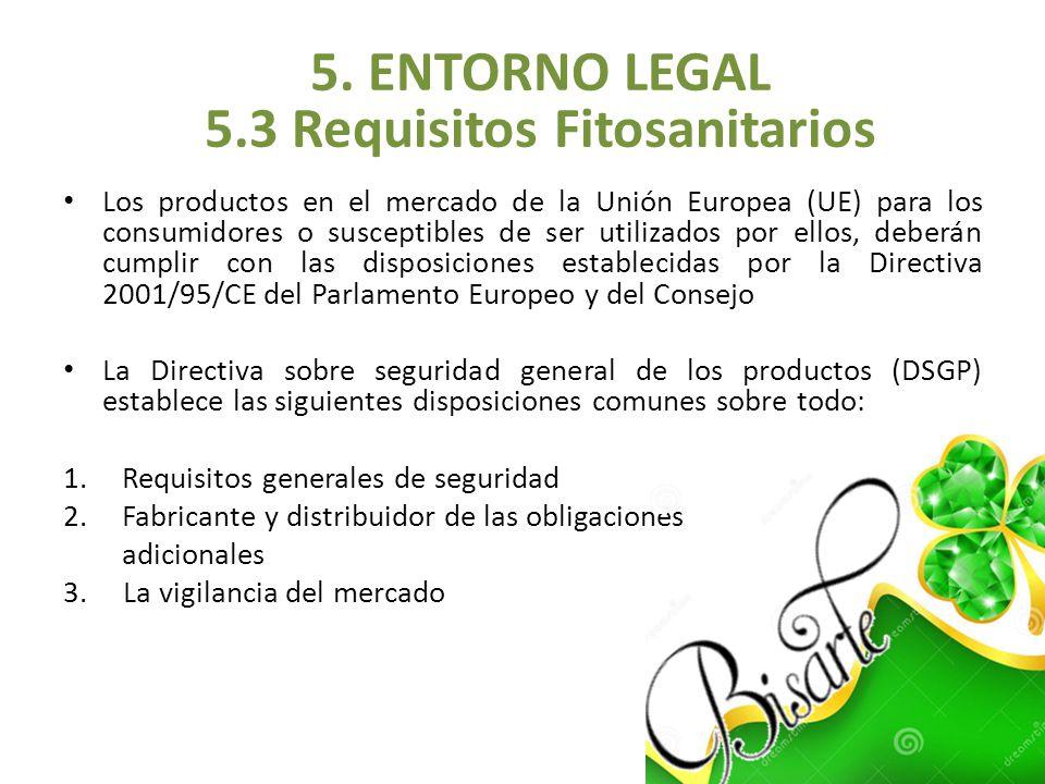 Los productos en el mercado de la Unión Europea (UE) para los consumidores o susceptibles de ser utilizados por ellos, deberán cumplir con las disposi