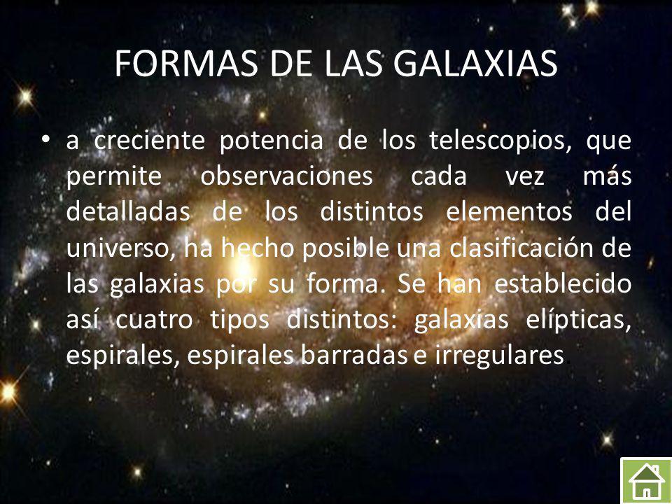 VIA LACTEA La Vía Láctea es nuestra galaxia.
