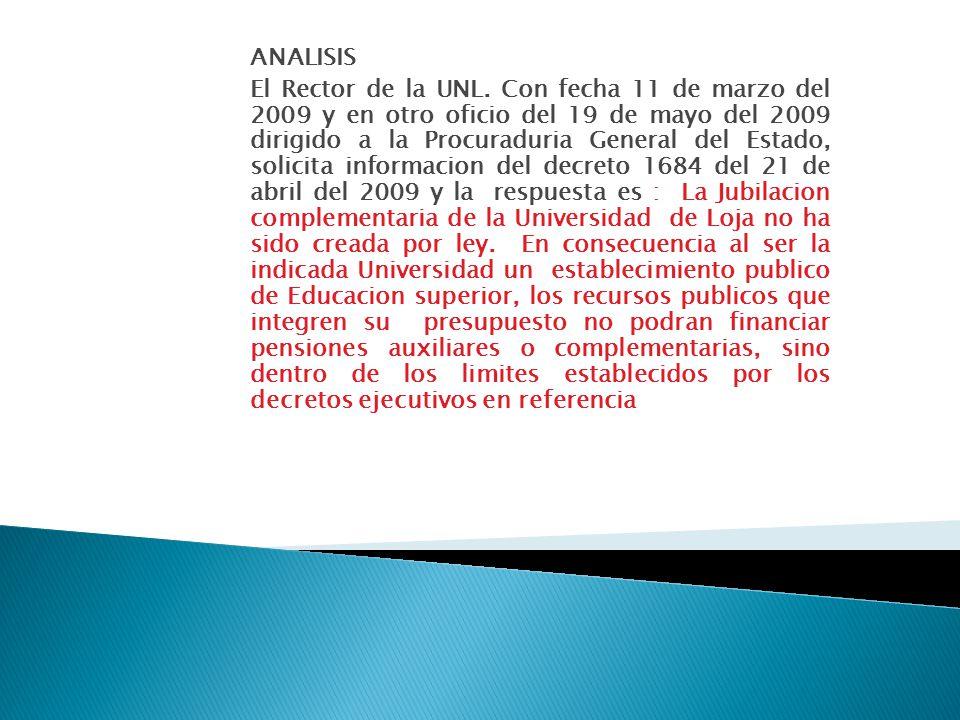ANALISIS El Rector de la UNL.