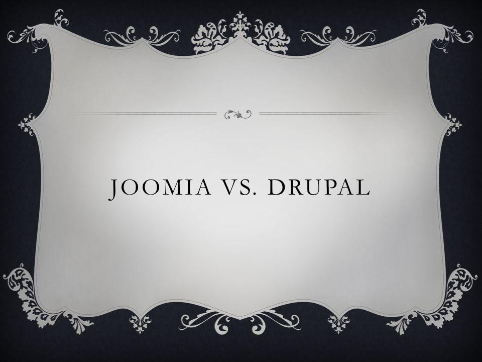 JOOMIA VS. DRUPAL