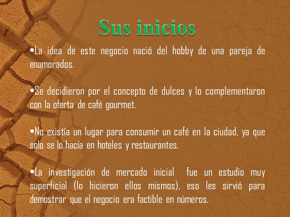 Sweet and Coffee ofrece varios tipos de cafeces propios de nuestras tierras por lo que las personas se sienten identificado con el producto.