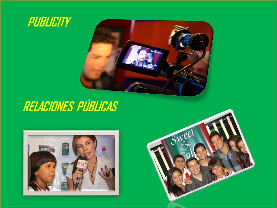 PUBLICITY RELACIONES PÚBLICAS