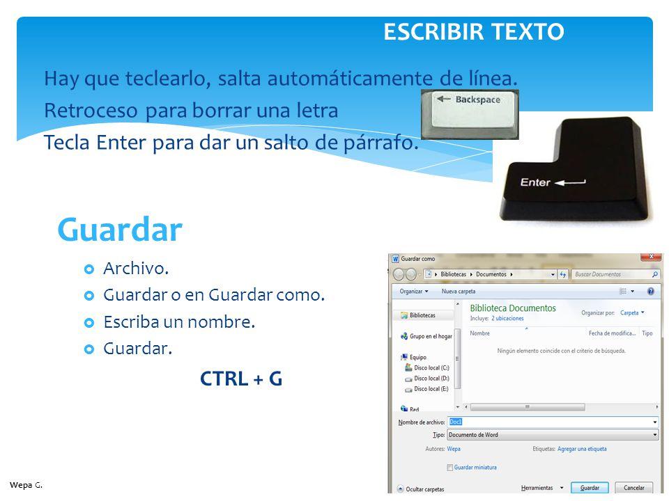 Archivo.Abrir. CTRL + A ABRIR DOCUMENTO IMPRIMIR DOCUMENTO Archivo.