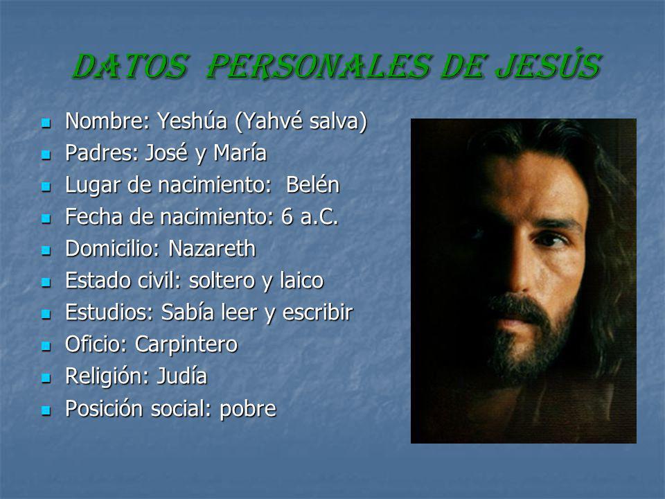 NOMBRE Jeshua = Jesús.Se repite 557 veces en los evangelios y 905 veces en todo el NT.