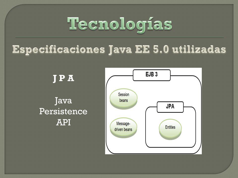 J P A Java Persistence API