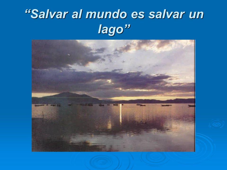 Salvar al mundo es salvar un lago