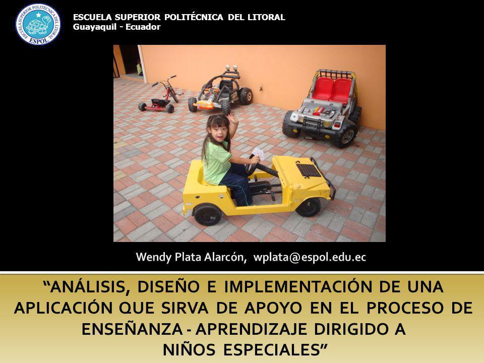 ESCUELA SUPERIOR POLITÉCNICA DEL LITORAL Guayaquil - Ecuador
