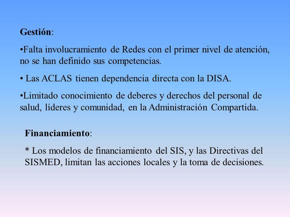 Provision: * El Proceso de Transición de los Programas Verticales, a los PAIS, por ciclos de vida es lento.