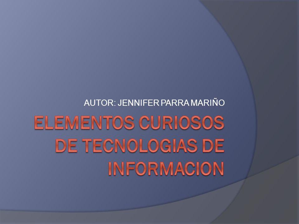AUTOR: JENNIFER PARRA MARIÑO