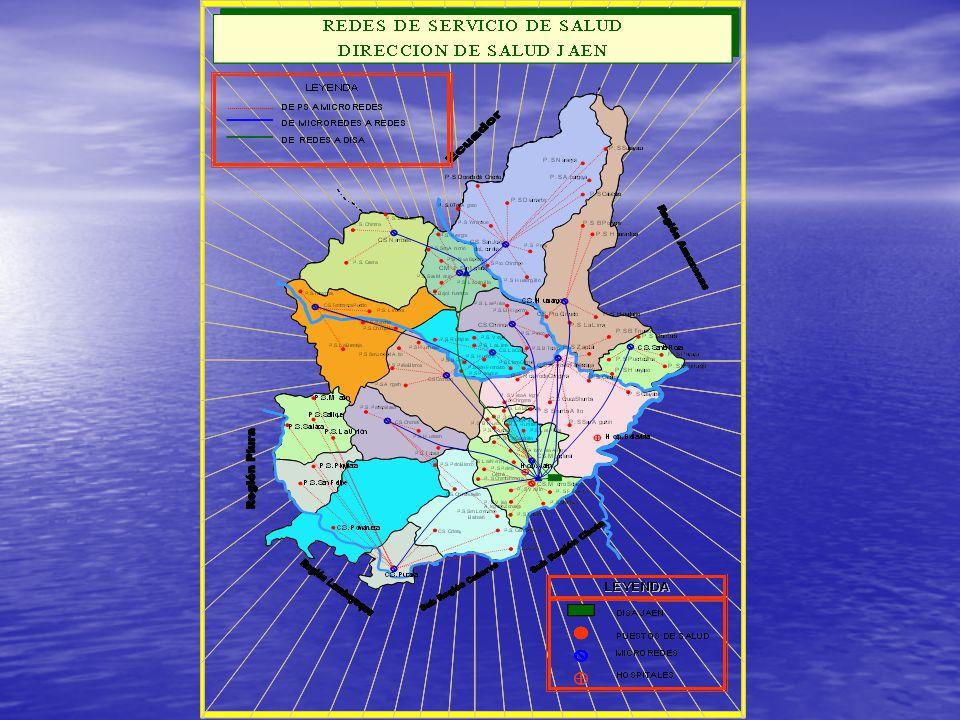 HUARANGO POMAHUACA COLASAY JAEN SAN JOSE DE LOURDES PUCARA NAMBALLE SAN IGNACIO CHIRINOS TABACONAS LA COIPA SAN JOSE DEL ALTO CHONTALI SALLIQUE LAS PIRIAS SAN FELIPE BELLAVISTA SANTA ROSA HUABAL 01 MUERTE MATERNA 03 MUERTES MATERNAS 02 MUERTES MATERNAS 01 MUERTE MATERNA Mortalidad Materna por distritos Dirección de Salud Jaén Dirección de Salud Jaén