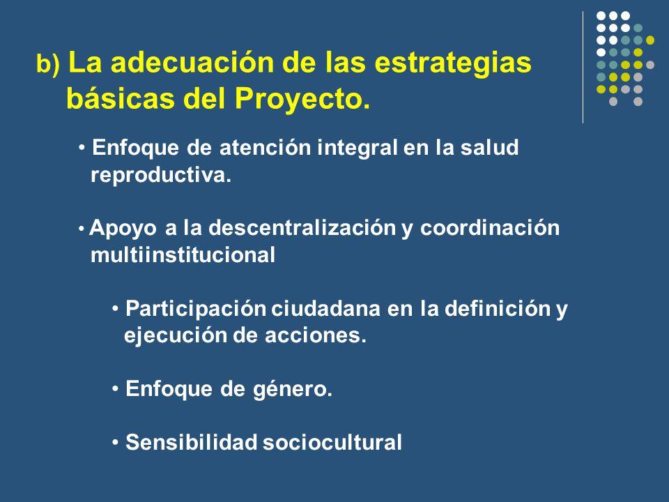 Enfoque de atención integral en la salud reproductiva.
