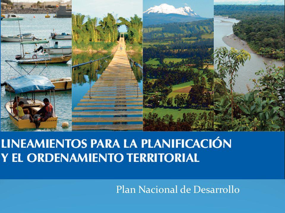 Ordenamiento Territorial El Ecuador adoptó una nueva Constitución en 2008, en la cual se incluyeron varios conceptos novedosos como el buen vivir, el régimen de desarrollo, los derechos de la naturaleza y un nuevo ordenamiento territorial, que tienen influencia directa sobre las industrias extractivas.