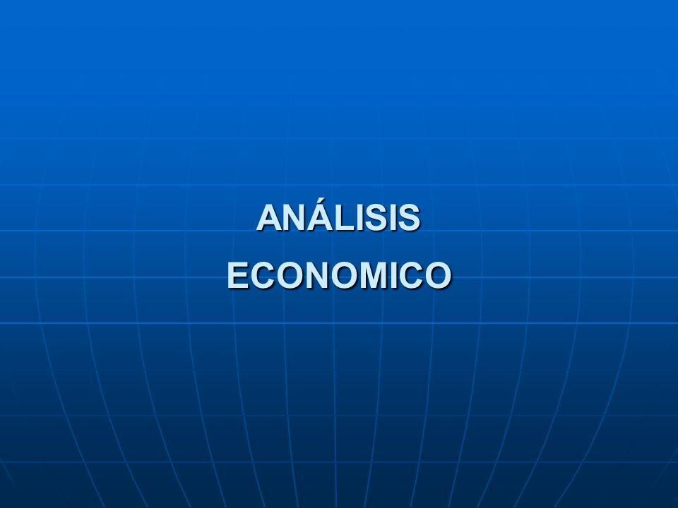 ANÁLISIS ECONOMICO