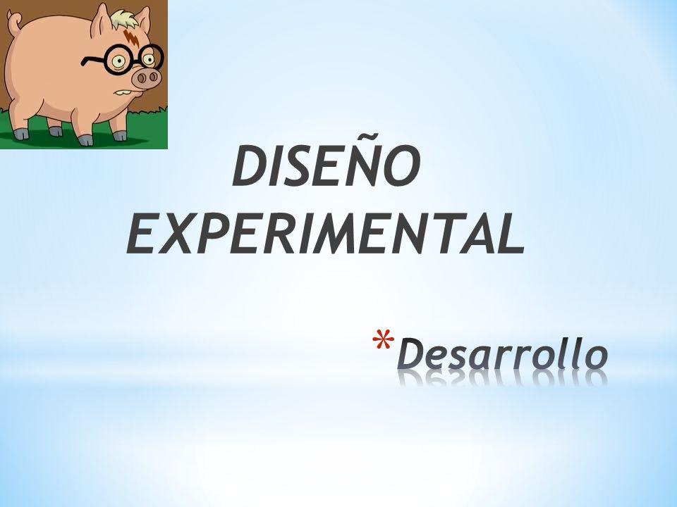DISEÑO EXPERIMENTAL