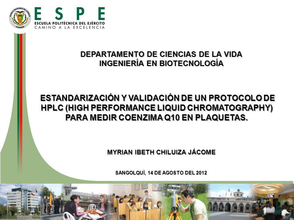 Condiciones cromatográficas: –Fase móvil: metanol 60%: 1-propanol 40%.