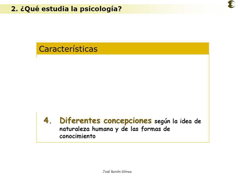 José Ramón Gómez Características 1.Es una ciencia experimental 2.Es una ciencia ecléctica 3.Opera con diferentes niveles de análisis 4.Diferentes conc