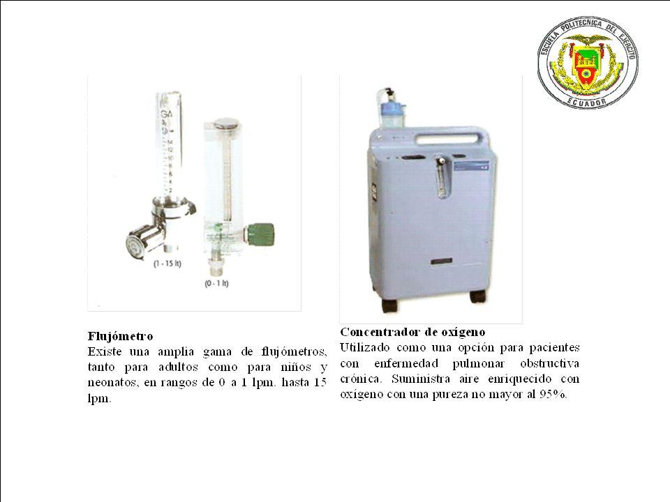 ® CIMAT - III Simposio Metodologia Seis Sigma 2007 Pagina 43 Logo Empresa Equipos de oxigenoterapia y equipos secundarios