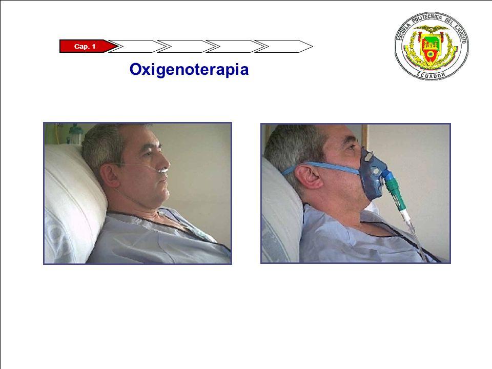 ® CIMAT - III Simposio Metodologia Seis Sigma 2007 Pagina 7 Logo Empresa Cap. 1 Oxigenoterapia
