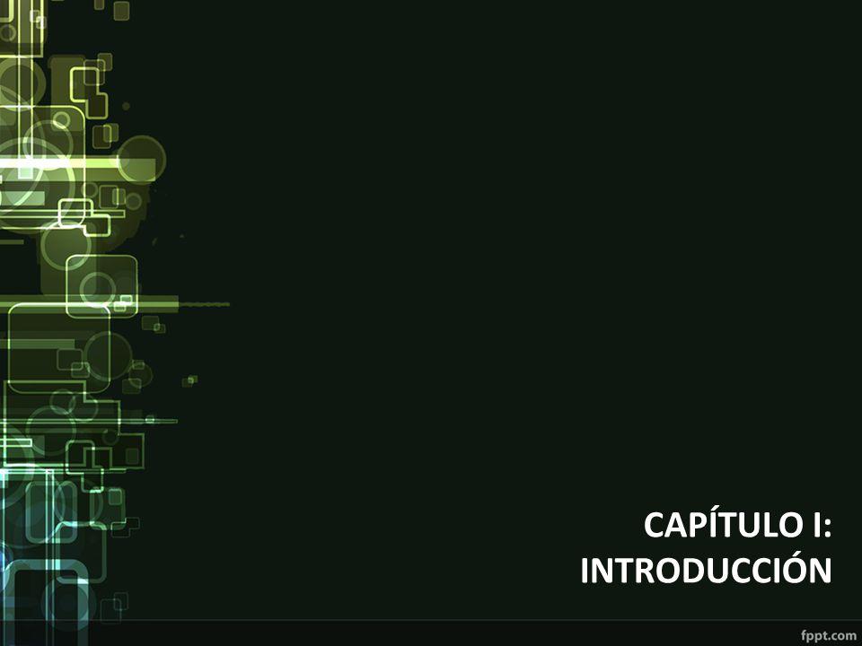 CAPÍTULO I: INTRODUCCIÓN