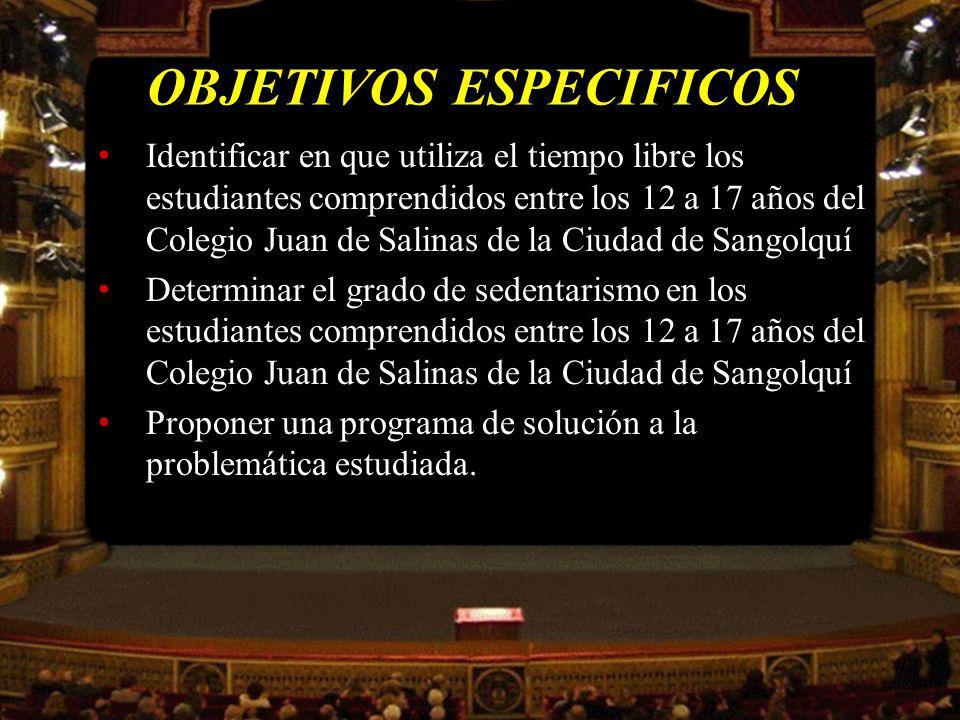 POBLACION Y MUESTRA MUESTRA HOMBRESMUJERESTOTAL PRIMERO Y SEGUNDO206223429 TERCERO Y CUARTO218220438 QUINTO Y SEXTO216214430 SUBTOTAL640657 TOTAL1297