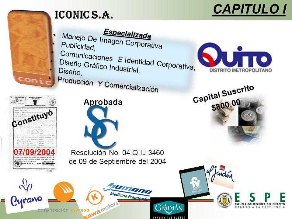 CAPITULO I Especializada Manejo De Imagen Corporativa Publicidad, Comunicaciones E Identidad Corporativa, Diseño Gráfico Industrial, Diseño, Producció