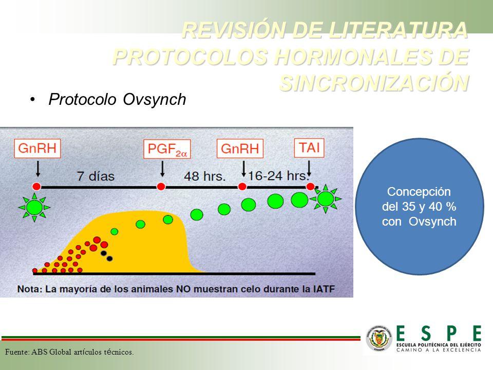 Se tonificó con fósforo: Luphus 10 cc Previo a la sincronización : Chequeo ginecológico y muestras de anticuerpo de DVB e IBR.