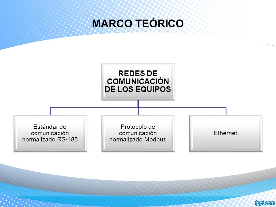 ESTÁNDAR DE COMUNICACIÓN RS-485 CARACTERÍSTICAS Permite que múltiples puertos sean conectados en un bus multipunto y sondeados selectivamente.