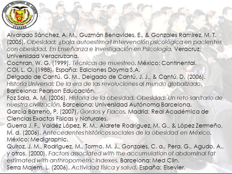 Alvarado Sánchez, A.M., Guzmán Benavides, E., & Gonzales Ramirez, M.