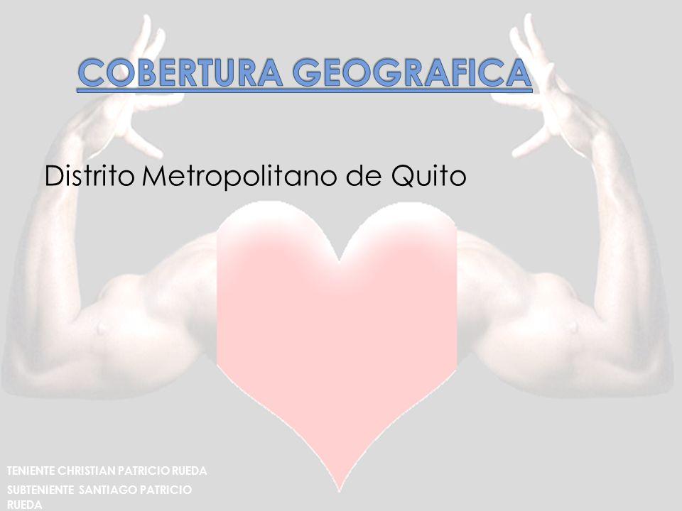 Distrito Metropolitano de Quito TENIENTE CHRISTIAN PATRICIO RUEDA SUBTENIENTE SANTIAGO PATRICIO RUEDA