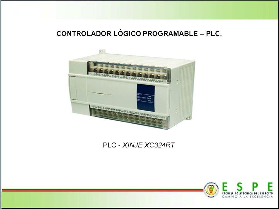 CONTROLADOR LÓGICO PROGRAMABLE – PLC. PLC - XINJE XC324RT