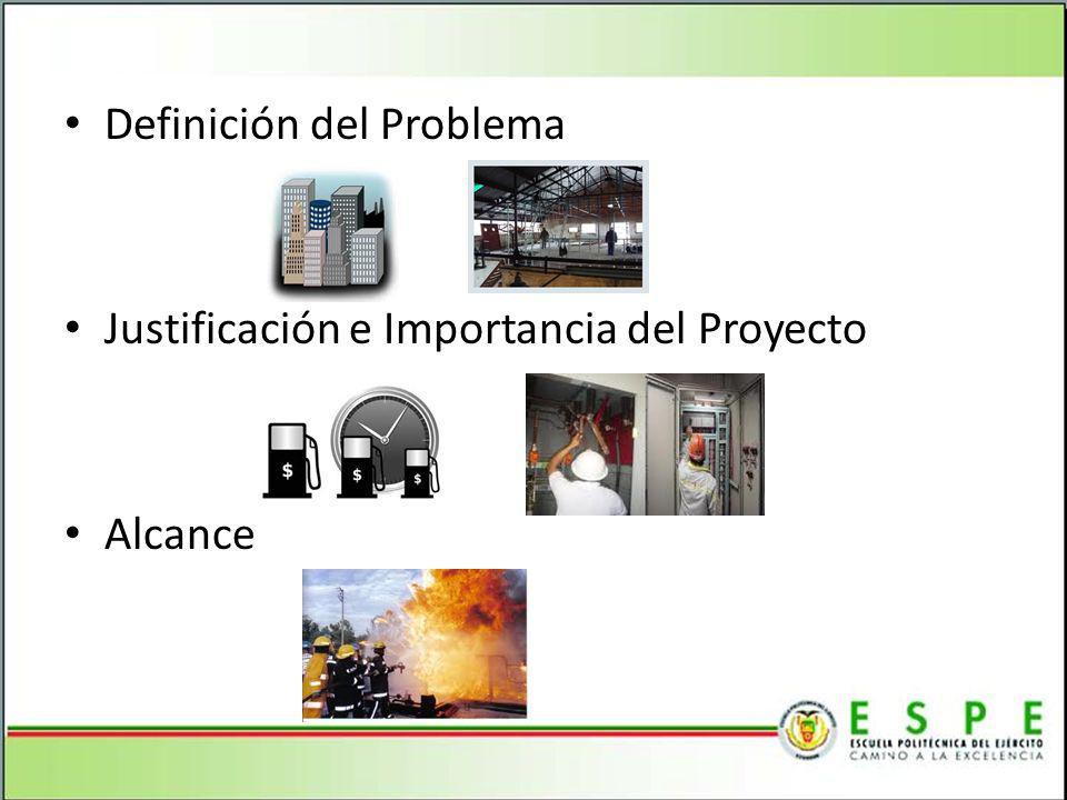 Definición del Problema Justificación e Importancia del Proyecto Alcance