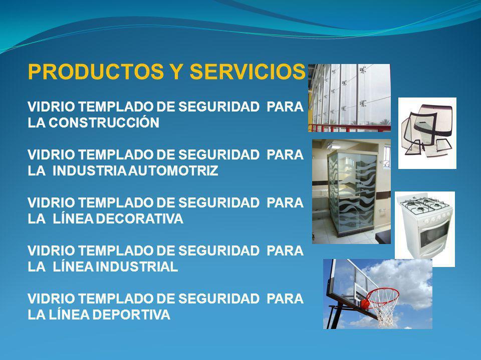 PRODUCTOS Y SERVICIOS VIDRIO TEMPLADO DE SEGURIDAD PARA LA CONSTRUCCIÓN VIDRIO TEMPLADO DE SEGURIDAD PARA LA INDUSTRIA AUTOMOTRIZ VIDRIO TEMPLADO DE S