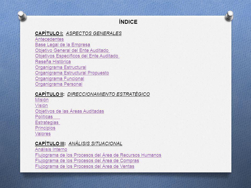 1.1.2 OBJETIVOS DEL ENTE AUDITADO ELECTRO RICHAR RUIZ CÍA.